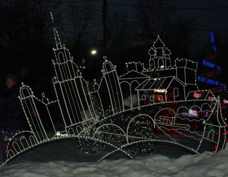 Световое шоу Ричарда Холдмана в Москве. Фото: Юлия Цигун/Великая Эпоха (The Epoch Times)