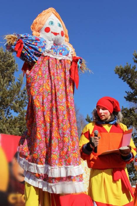 Празднование Масленицы прошло 1 марта в архитектурно-этнографическом музее «Тальцы». Фото: Нина Апёнова/Великая Эпоха (The Epoch Times)