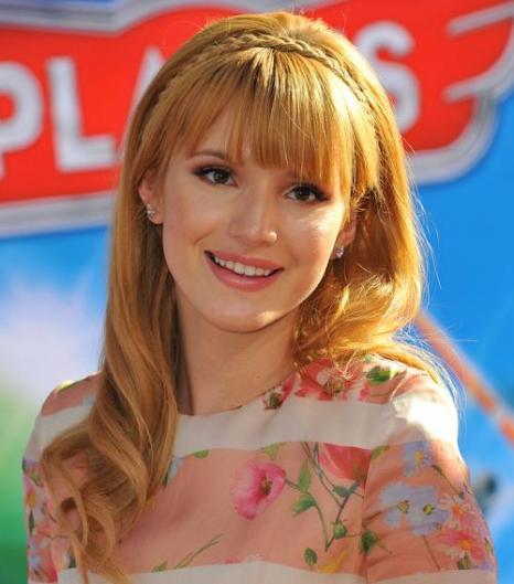 Актриса Белла Торн. Модные причёски представили знаменитости в августе 2013 года. Фото: Angela Weiss/Getty Images