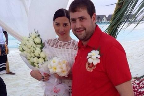 Жасмин и Илан Шор сыграли вторую свадьбу на Мальдивских островах. Фото: instagram.com/jasminshor