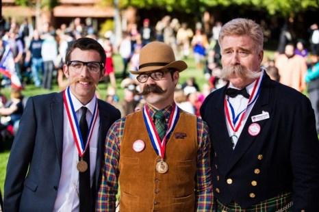 Лучшие усы на конкурсе бородачей в Лас-Вегасе в 2012 г. Фото: Ian Smythe