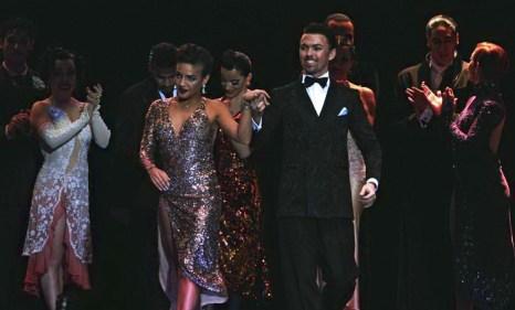 Российская пара Дмитрий Васин и Эсмер Омерова заняли 5-е место, став лучшей иностранной парой чемпионата мира по танго 2013 в аргентинской столице Буэнос-Айресе 27 августа 2013 года. Фото: DANIEL GARCIA/AFP/Getty Images