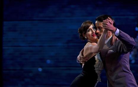 Чемпионат мира по танго 2013 в аргентинской столице Буэнос-Айресе. Фото: ALEJANDRO PAGNI/AFP/Getty Images