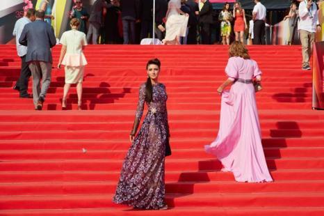 Анастасия Макеева посетила закрытие кинофестиваля в Москве 29 июня 2013 года. Фото: Oleg Nikishin/Getty Images for Artefact