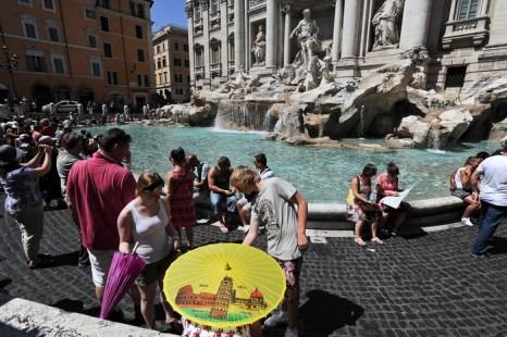 Рим, Италия. Фото: ANDREAS SOLARO/AFP/Getty Images