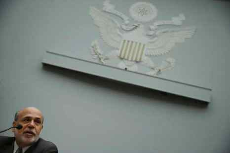 Председатель Федеральной резервной системы Бен Бернанке. Экономика США показала лучшие результаты, чем ожидалось, и ФРС (Федеральная резервная система) имеет возможности в будущем немного ужесточить денежно-кредитную политику. Фото: Chip Somodevilla/Getty Images