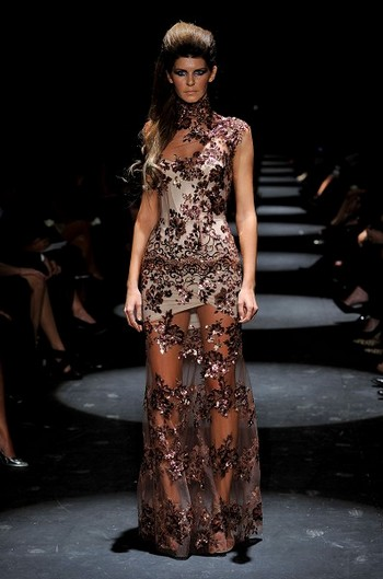 Коллекция от Alex Perry на австралийской Неделе моды весна-лето 2010/11. Фото: Stefan Gosatti/Getty Images