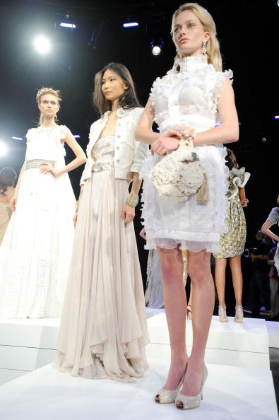 Презентация коллекции Binetti  Весна-2011на Неделе Mercedes-Benz Fashion Week. Фото: Fernanda Calfat/Getty Images