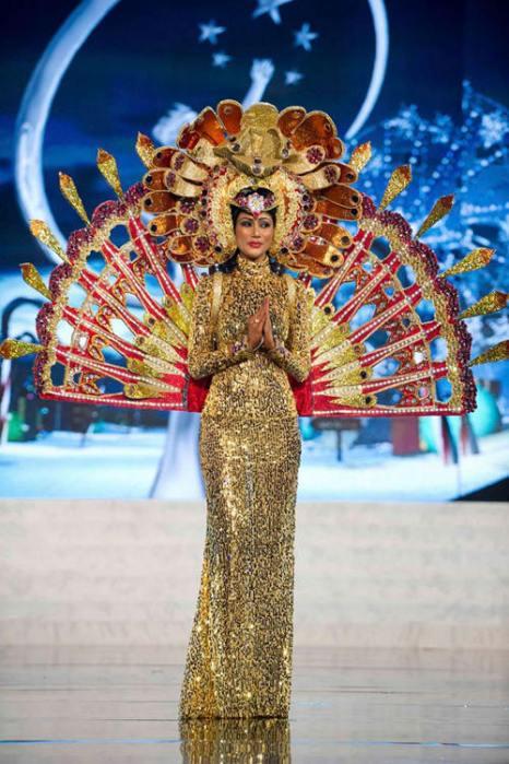Участницы конкурса «Мисс Вселенная - 2012» в национальных костюмах. Фоторепортаж. Фото: fresher.ru