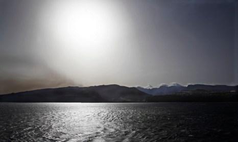 Пожары на Канарских островах. Фото: DESIREE MARTIN/AFP/Getty Images