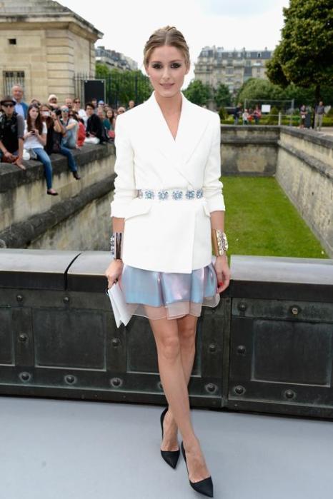 Оливия Палермо посетила показ Christian Dior в Париже 1 июля 2013 года. Фото: Pascal Le Segretain/Getty Images