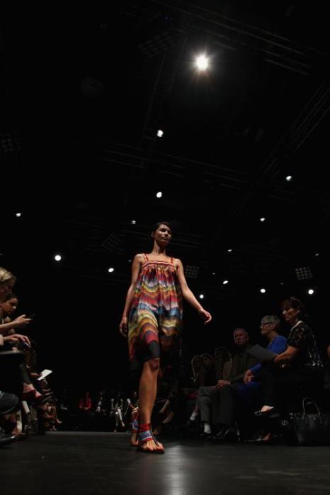 Индийский стиль представили на неделе моды в Австралии. Фото: Marianna Massey / Getty Images