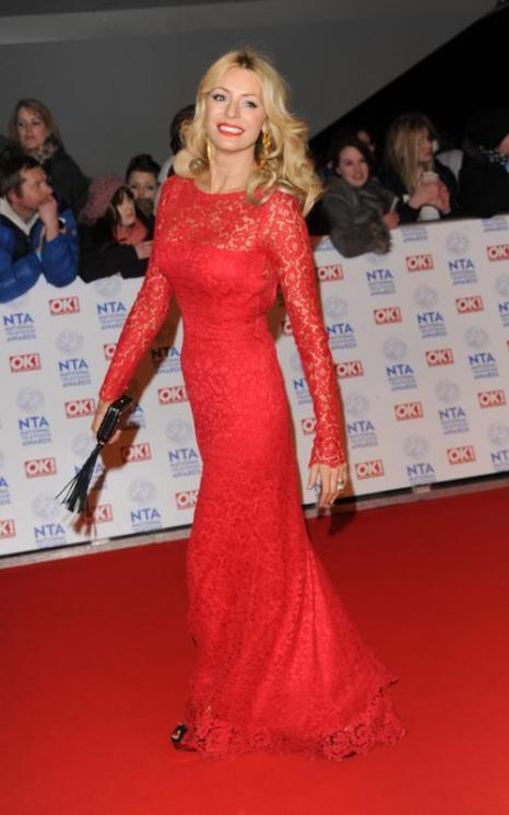 Тесс Дели (Tess Daly) на церемонии вручения премии National Television Awards в Лондоне, 23 января 2013 года. Фото: Stuart Wilson / Getty Images