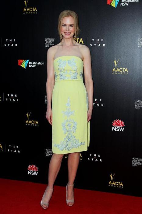 Николь Кидман на церемонии вручения премии AACTA в Сиднее, 30 января 2013 года. Фото: Lisa Maree Williams / Getty Images