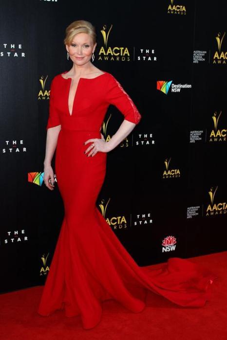 Эсси Девис (Essie Davis), австралийская актриса, на церемонии вручения премии AACTA в Сиднее, 30 января 2013 года. Фото: Lisa Maree Williams / Getty Images