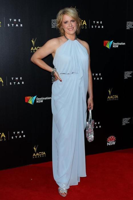 Сьюзен Прайор на церемонии вручения премии AACTA в Сиднее, 30 января 2013 года. Фото: Lisa Maree Williams / Getty Images