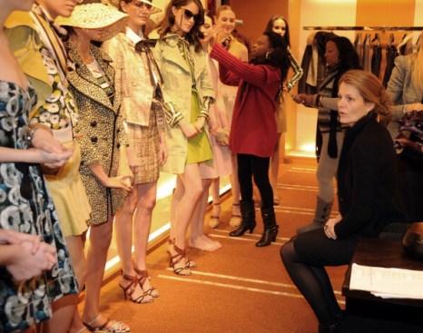 Подготовка к показу, 14 декабря 2010,  Атланта, Джорджия. Фото: Rick  Diamond/Getty Images for Vogue