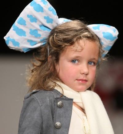 Детская коллекция от Трелайз Купер на Недели моды-2010. Фото:Sandra Mu/Getty Images