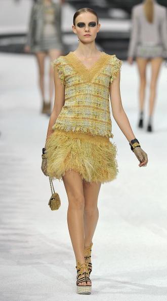 Коллекция Chanel, весна-лето 2011 Фото:Pascal Le Segretain/Getty Images