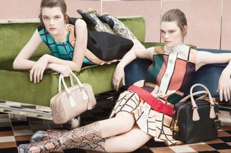 Фоторепортаж. Рекламная кампания Prada осень/зима 2011-2012. Фото предоставлено AbNovki