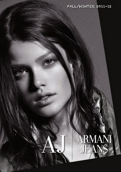 Рекламная кампания Armani Jeans осень 2011. Фото предоставлено AbNovki