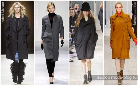 Модные пальто сезона осень-зима 2011/2012. Фото: moda-blog.ru