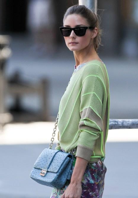 Модные сумки Оливии Палермо. Фото: hello-style.ru