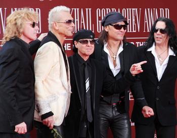 Участники группы Scorpions. Фото РИА Новости