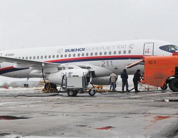 [18:28:01] Юля_Москва: Самолет SSJ-100. Фото РИА Новости