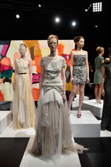 Коллекция Аурелио Костарелла представлена на неделе моды в Сиднее. Фото: Stefan Gosatti / Getty Images