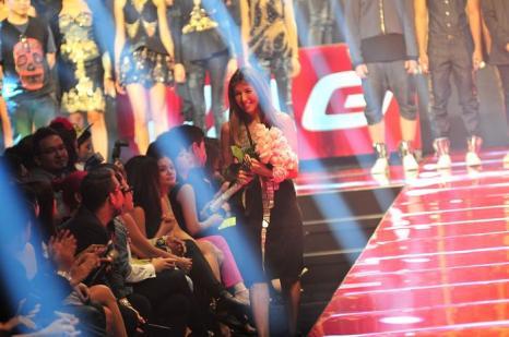 Нина Гарсия на показе JAG Недели моды Holidey в Филлипинах 24 мая 2013 года. Фото: Veejay Villafranca/Getty Images