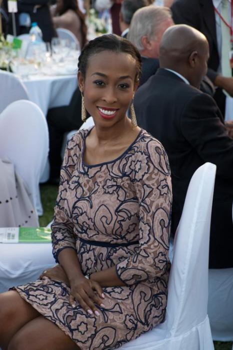 Гостья Анна Уэлш на вечере «Сделано в Африке». Фото: Didier Baverel/Getty Images for Made in Africa Foundation