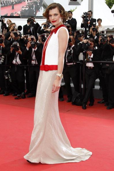 Милла Йовович, 18 мая 2011, Канны, Франция.  Фото: Christian Alminana/Getty Images