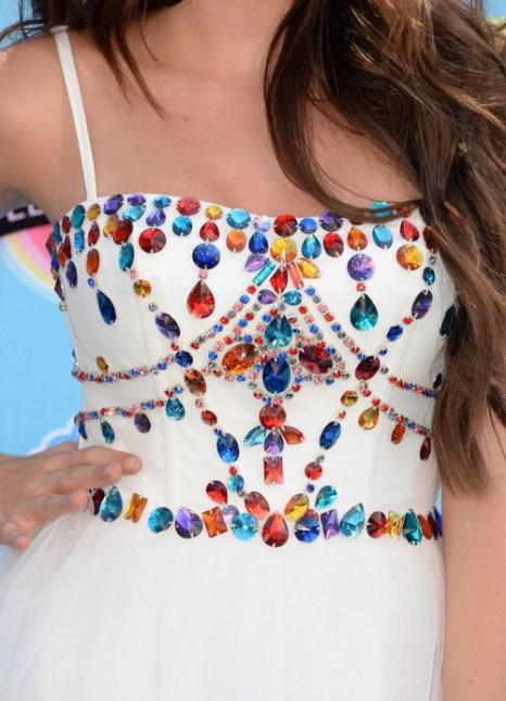 Звёзды продемонстрировали наряды и аксессуары на премии «Выбор подростков-2013». Фото: Jason Merritt/Getty Images