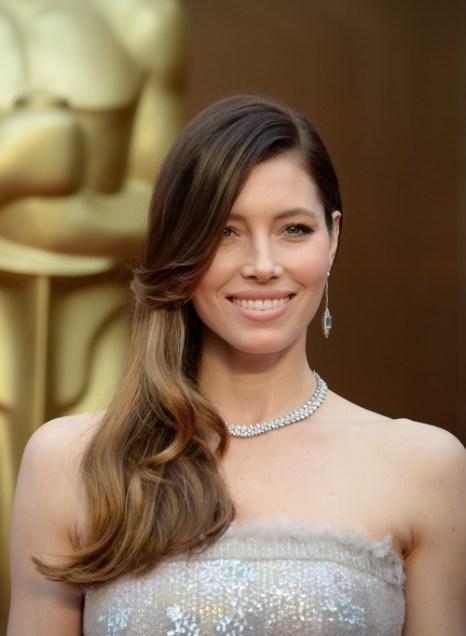 Актриса Джессика Бил на церемонии вручения «Оскара» 2 марта 2014 г. Фото: ROBYN BECK/AFP/Getty Images