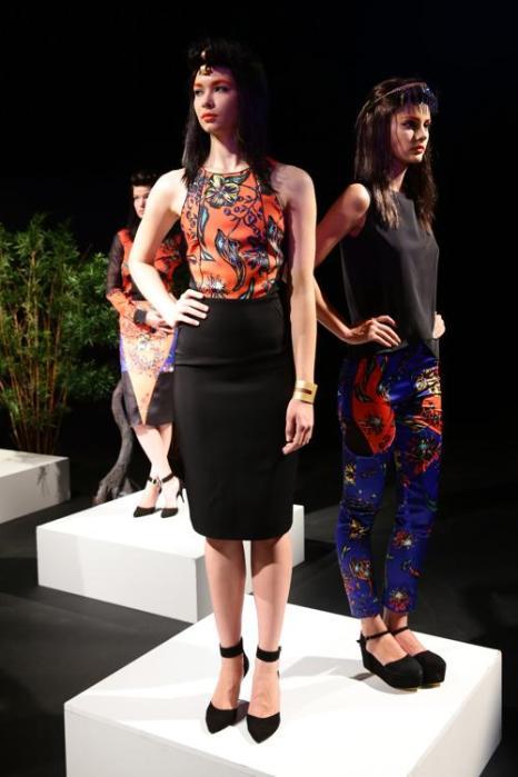 Турецкий модный бренд Beste Gurel представил в Стамбуле 7 октября 2013 года новую коллекцию сезона лето-осень 2014. Фото: Vittorio Zunino Celotto/Getty Images for IMG
