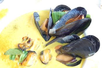 Изысканный суп из моллюсков. Фото: Наталья Орьен/Великая Эпоха