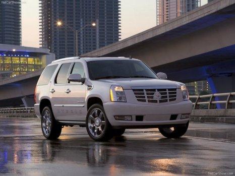 Cadillac Escalade. Фото: netcarshow.com