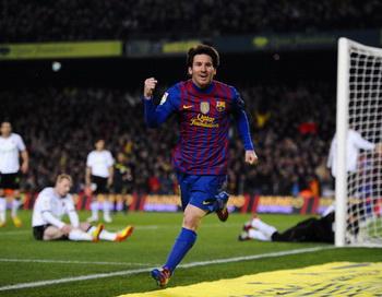 Месси принес «Барселоне» крупную победу над «Валенсией». Фото: David Ramos/Getty Images