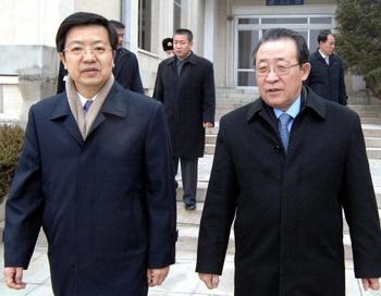 В Китай прибыла делегация КНДР для участия в переговорах с США. Фото: KNS/AFP/Getty Images