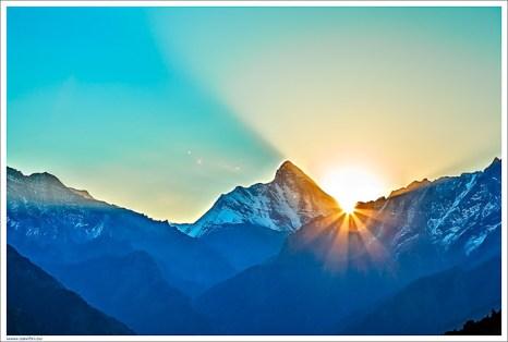 Нанда-Деви. Зарождение Света — Матерь Мира открывает Свой Лик. Фото: Ритам