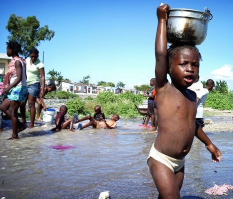 Готов ли мир встретиться лицом к лицу с потрясениями, связанными с водой? Фото: Olivier Laban mattei/AFP/Getty Images