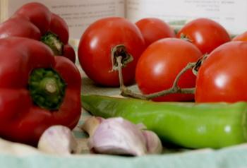Продукты, используемые для приготовления салата