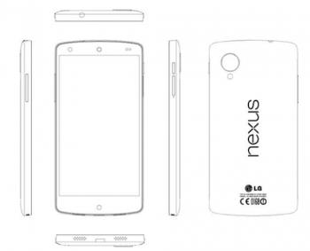 Снимок Nexus 5 из сервисной инструкции. Фото: androidpolice.com