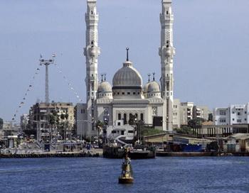 Вид на город Порт-Саид. Фото РИА Новости