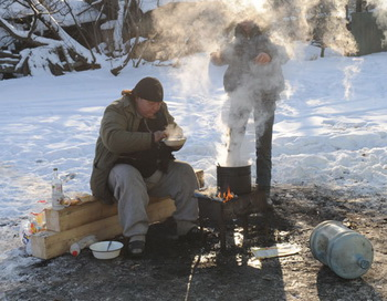 Бездомные. Фото РИА Новости