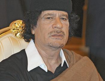 Муамар Каддафи. Фото РИА Новости