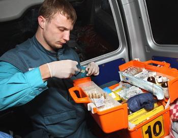 Скорая помощь. Фото РИА Новости