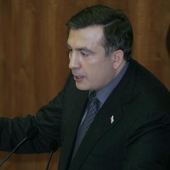 Президент Грузии Михаил Саакашвили. Фото РИА Новости