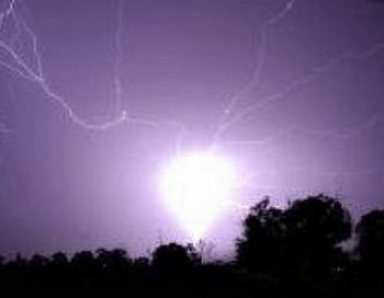Шаровая молния. Фото с сайта ecocollaps.ru.